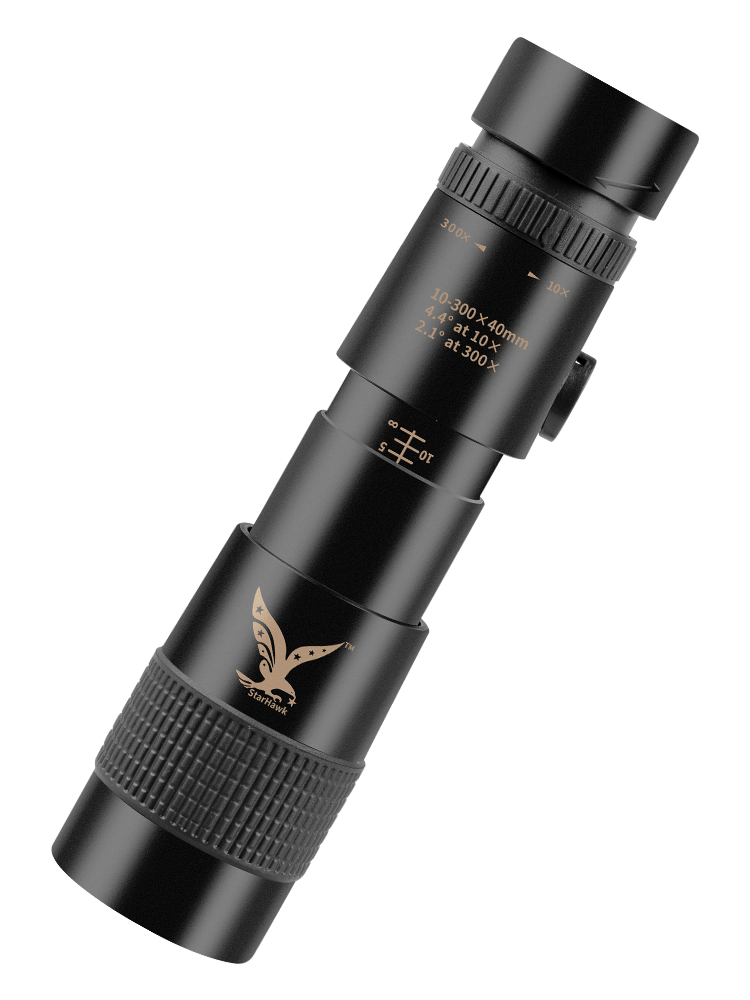 10-300X40mm Super Telephoto Zoom Monocular Telescope(Released in July 2020)