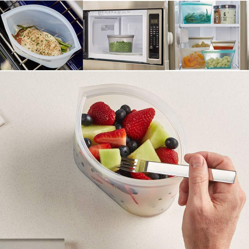 (60% OFF TODAY)Leakproof Containers Stand Up - Completely Plastic-Free