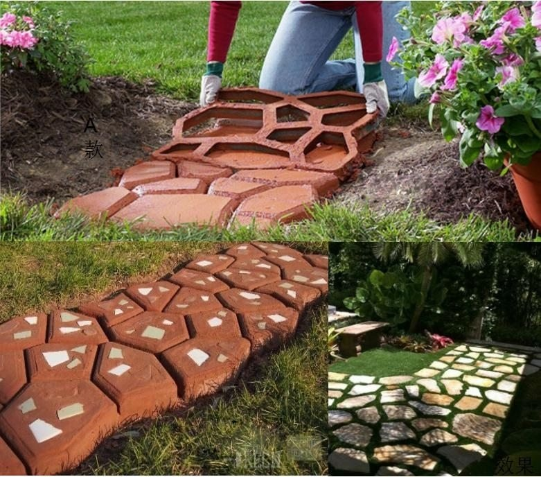 (LAST DAY PROMOTION - SAVE 50% OFF) Patio Paving Mold - Buy2 Free Shipping