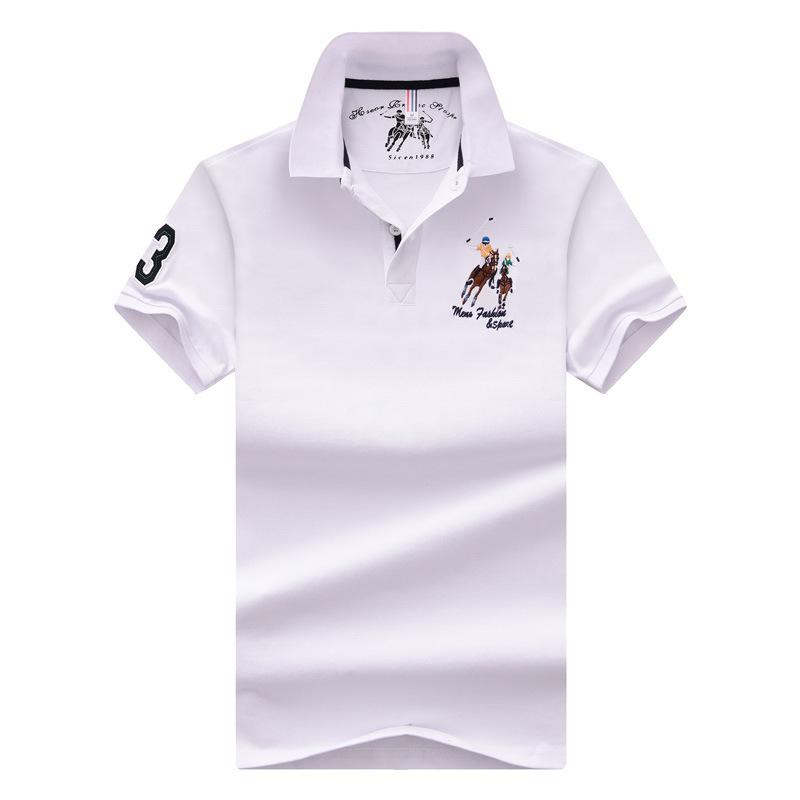 Business Casual Polo Shirt Size M-4XL