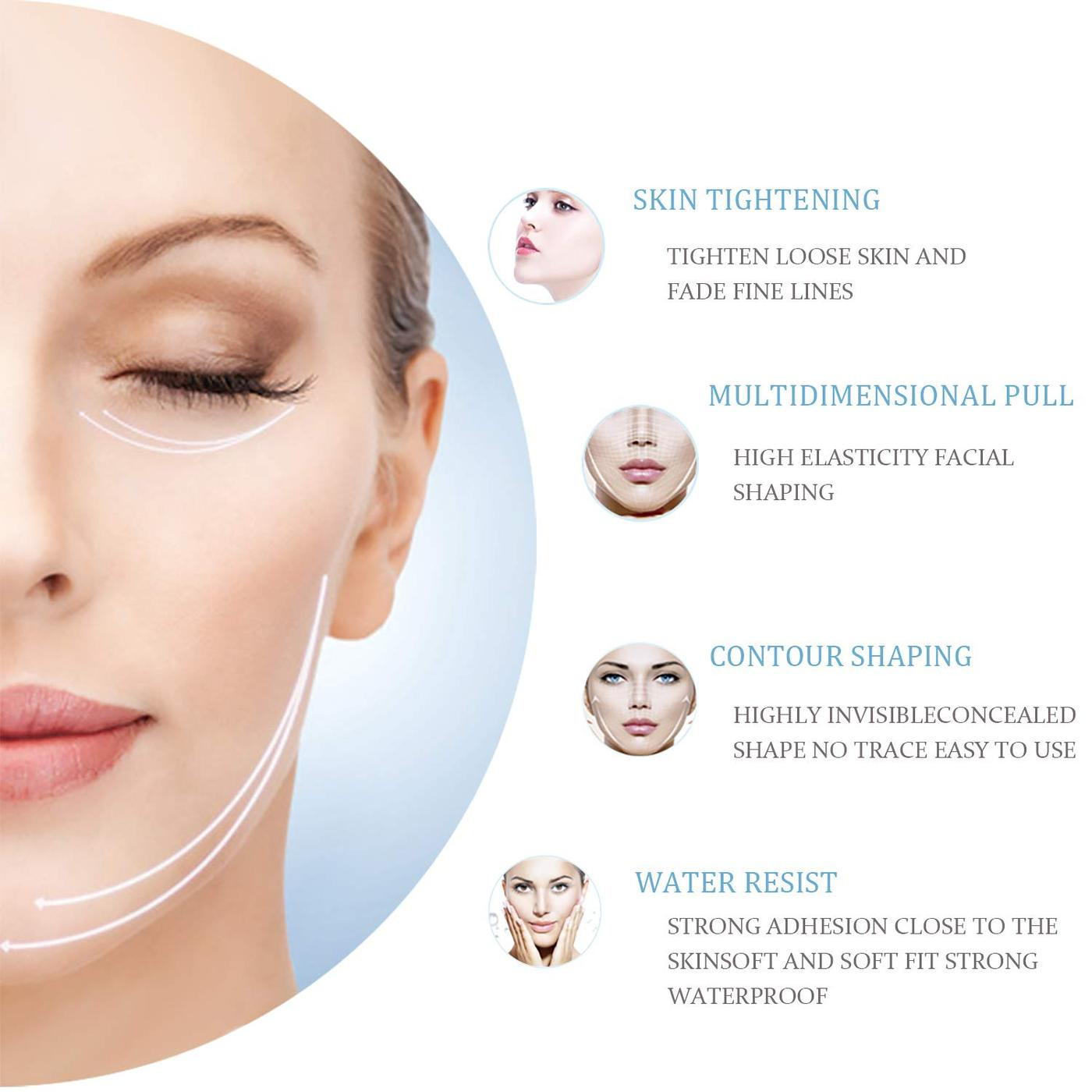 DODO LABEL™ - Instant Face and Neck Lift Stickers
