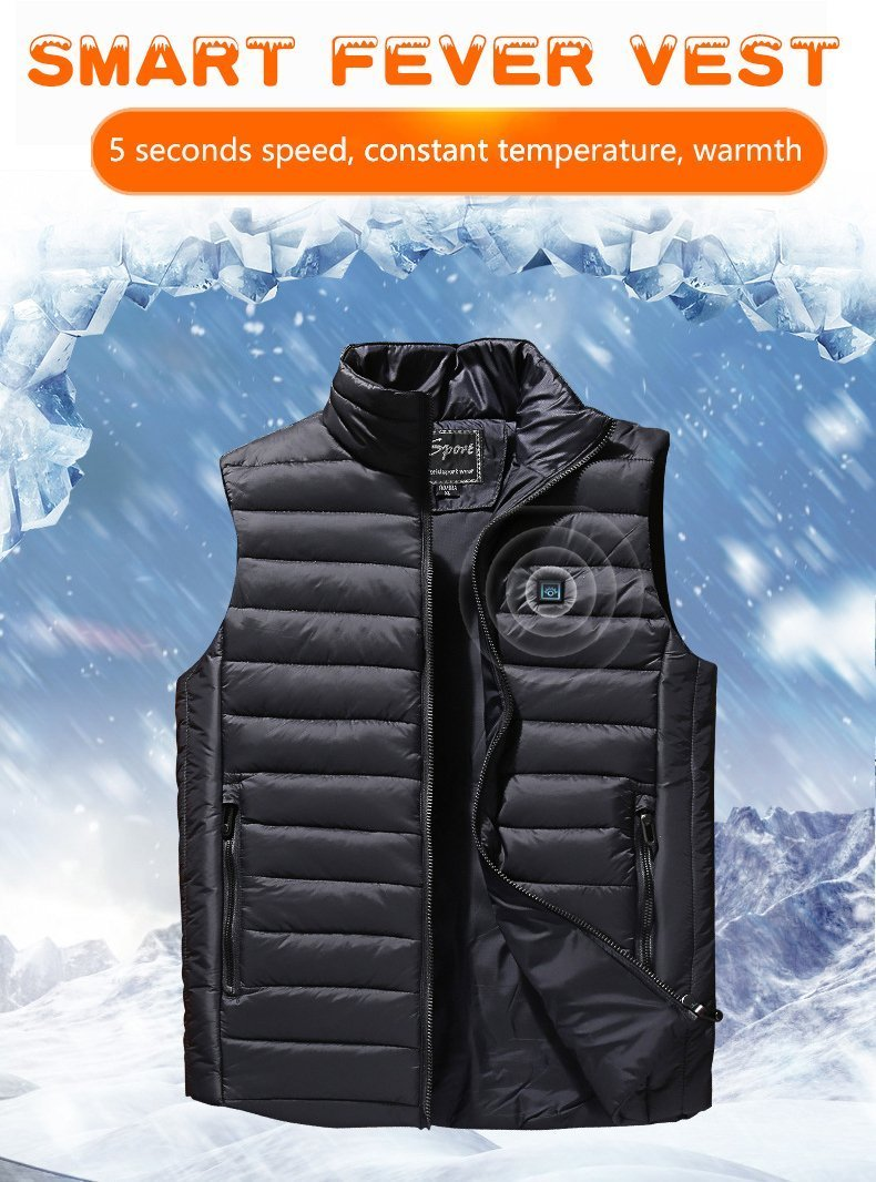 Factory Outlet-Unisex Warming Heated Vest
