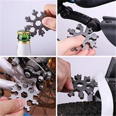 19-in-1 stainless steel snowflakes multi-tool-BUY 5 FREE SHIPPING🔥