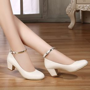 Trendy High Heel Shoes Pointed Flat Shoes Size 9 High Heels