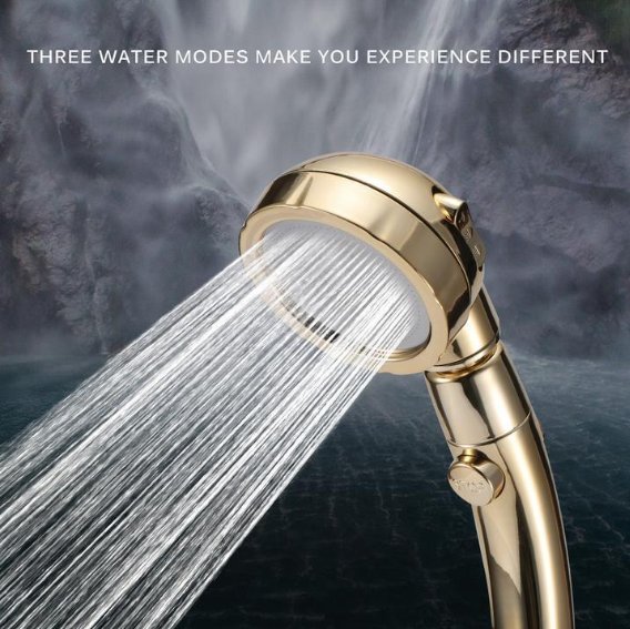 [🚿Year-End Sale - 50% Off🎁] 3 In 1 High Pressure Showerhead (US Standard Hose Size)