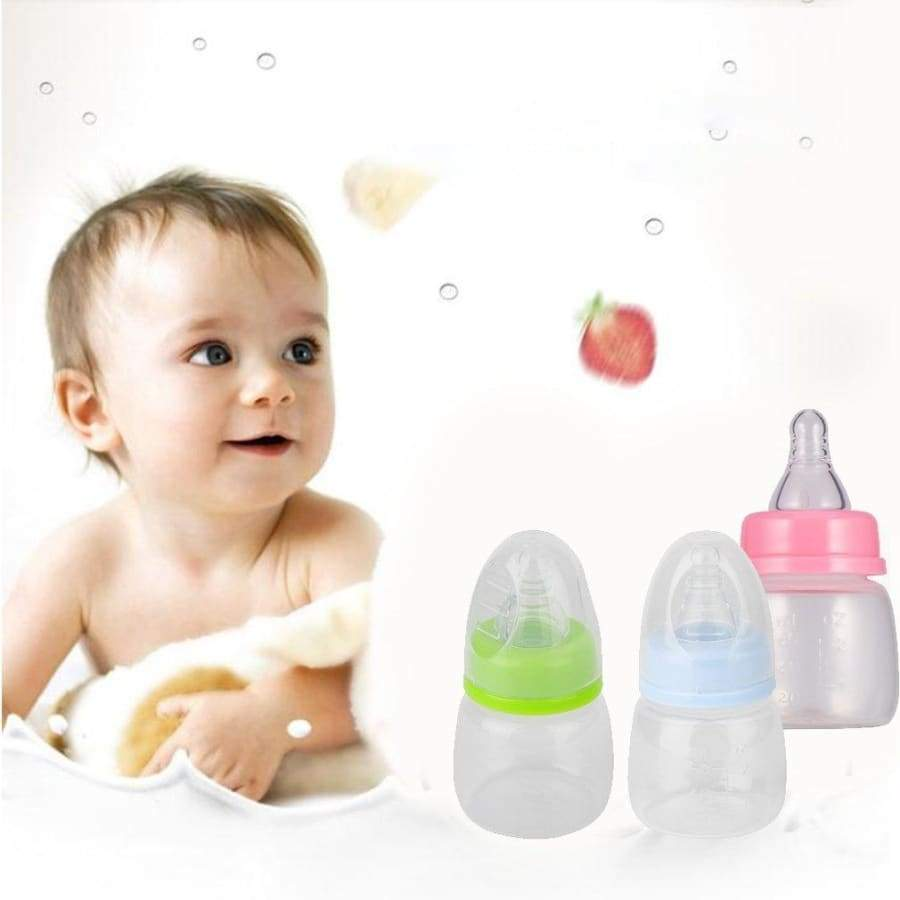 Infant Baby  0-18 Months Feeder 60ML PP Nursing Juice Milk Mini Hardness Bottle