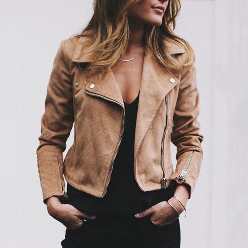 Casual Zippers Jacket