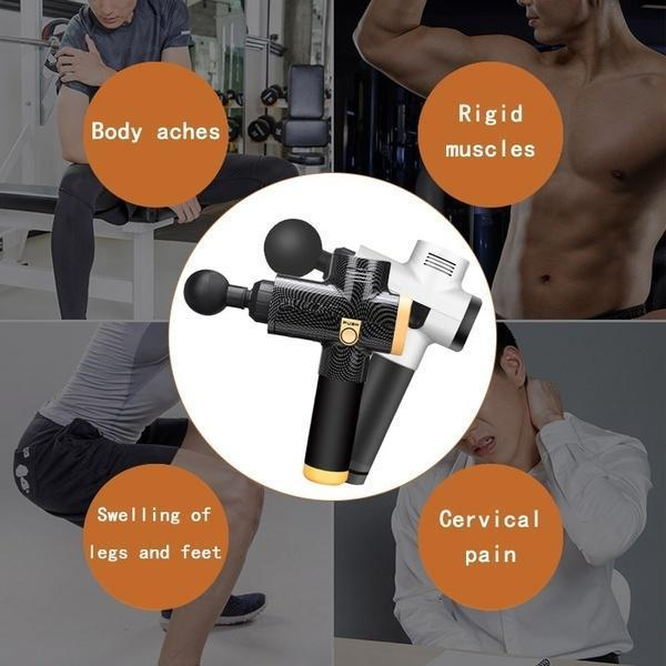 (Christmas promotion!!)4 In One,Relieving Pain,3 Speed Setting Body Deep Muscle Massager