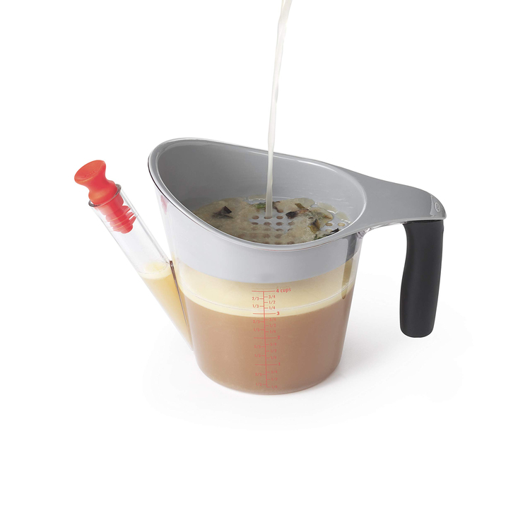 Anti-leakage and Unbreakable 4-Cup Fat Separator-60%OFF TODAY