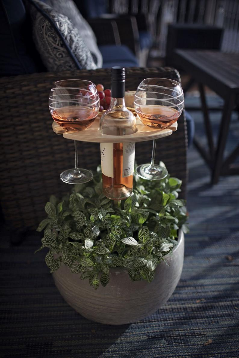 Mother's Day/Father's Day Gift🎁OUTDOOR PORTABLE WINE TABLE