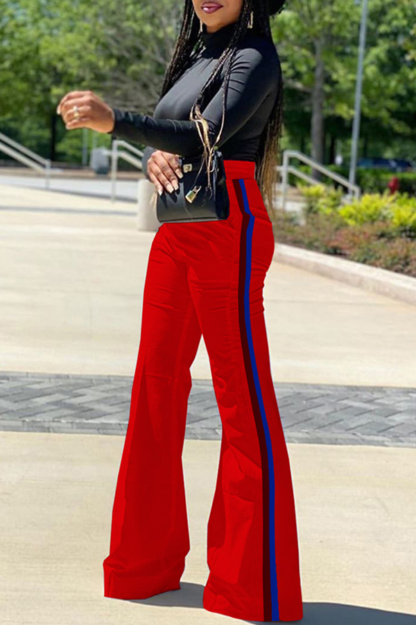 Casual Loose Flared Pants