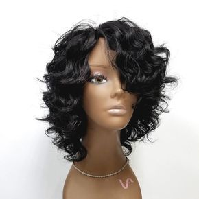 Human Wigs African American Hair Lace Front Lace Front Ponytail Wig Blonde Lace Hair Bundles With Lace Frontal Cutting Lace On Wig Natural Hair Pieces For African American Shawni Wig