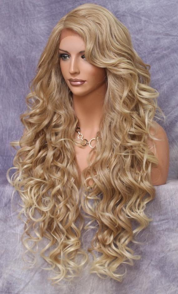 2020 Fashion Ombre Blonde Wigs 2018 Lace Front Wigs