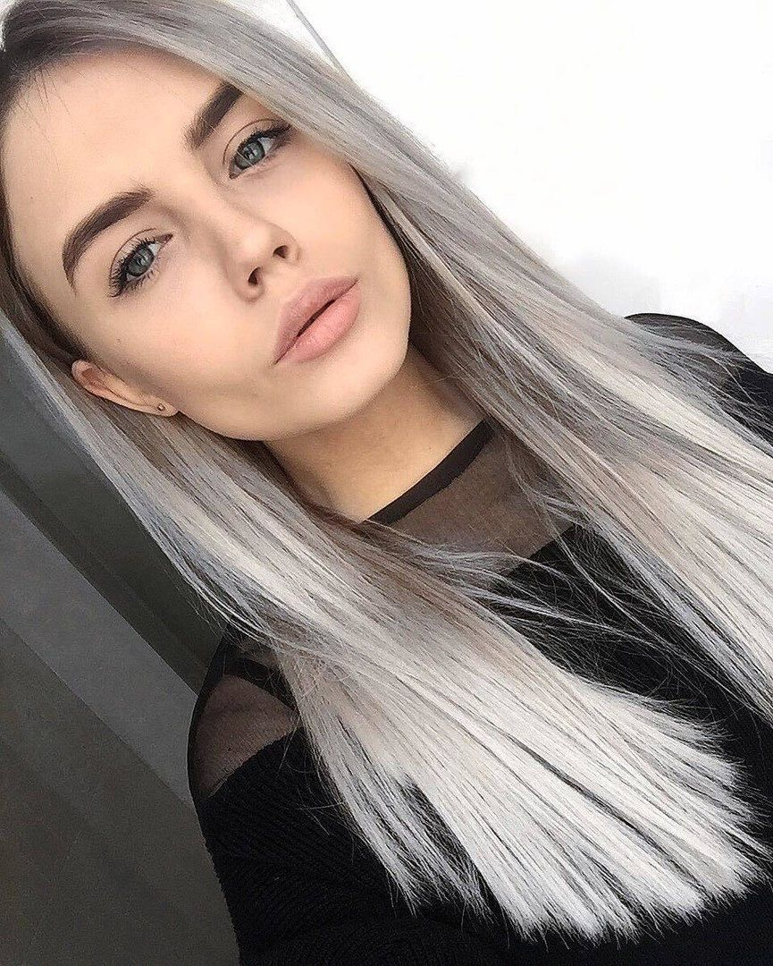 Gray Hair Wigs For African American Women Royal Me Wigs Silver Ash Gray Hair Color Black And Grey Highlights Star Wigs Lavender Wig