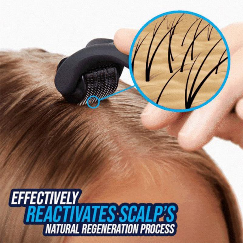 Hair stimulation roller