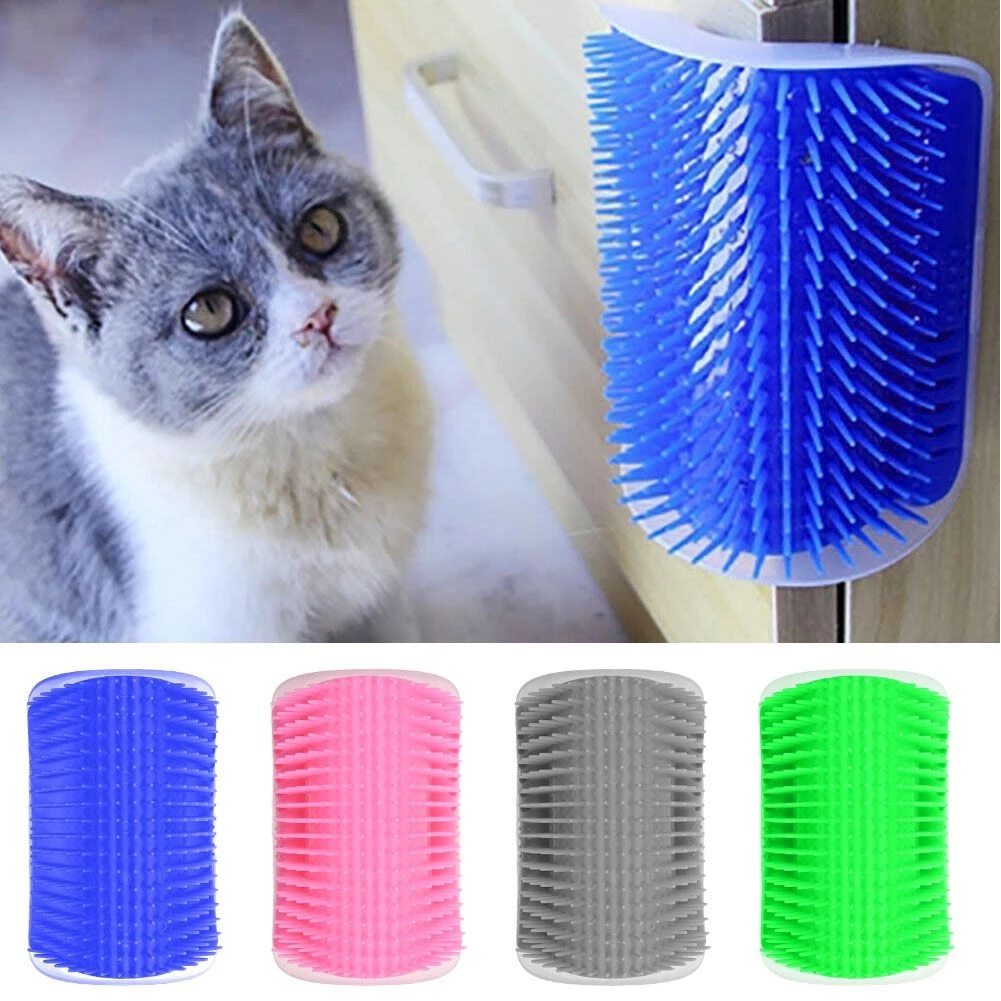 (Hot Sale Today 50% DISCOUNT!) Cat Self Grooming Comb--the hugging massage corner for your cat