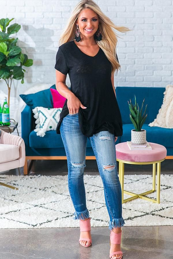 Jeans For Women Casual Wear Wedding Guest Outfits For Over 60S Ladies Jeans Pant Black Harem Trousers