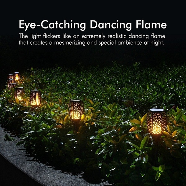 Buy More, Save More - Solar Flame Flickering Lamp Torch