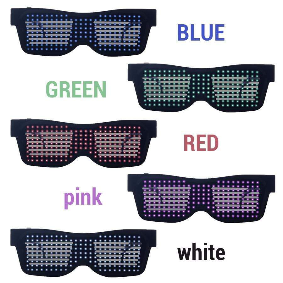 2019 LED Glowing Glasses Party (THE Last day promotion !)