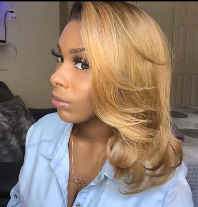 New Style Spring/Autumn Wave Frontal Lace Wig