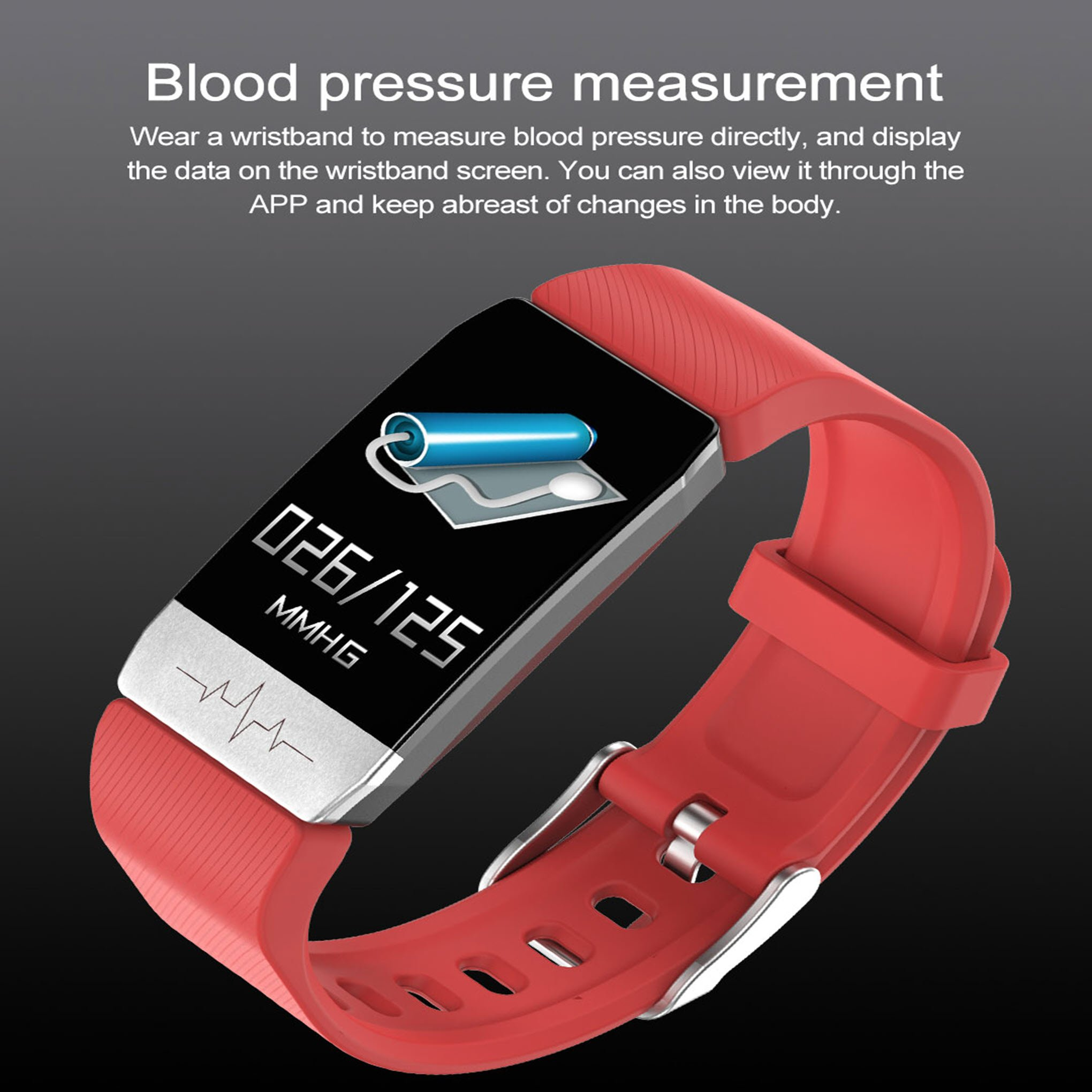 Smart Watch with Instant Temperature & Immunity Measure Check(50% OFF TODAY)