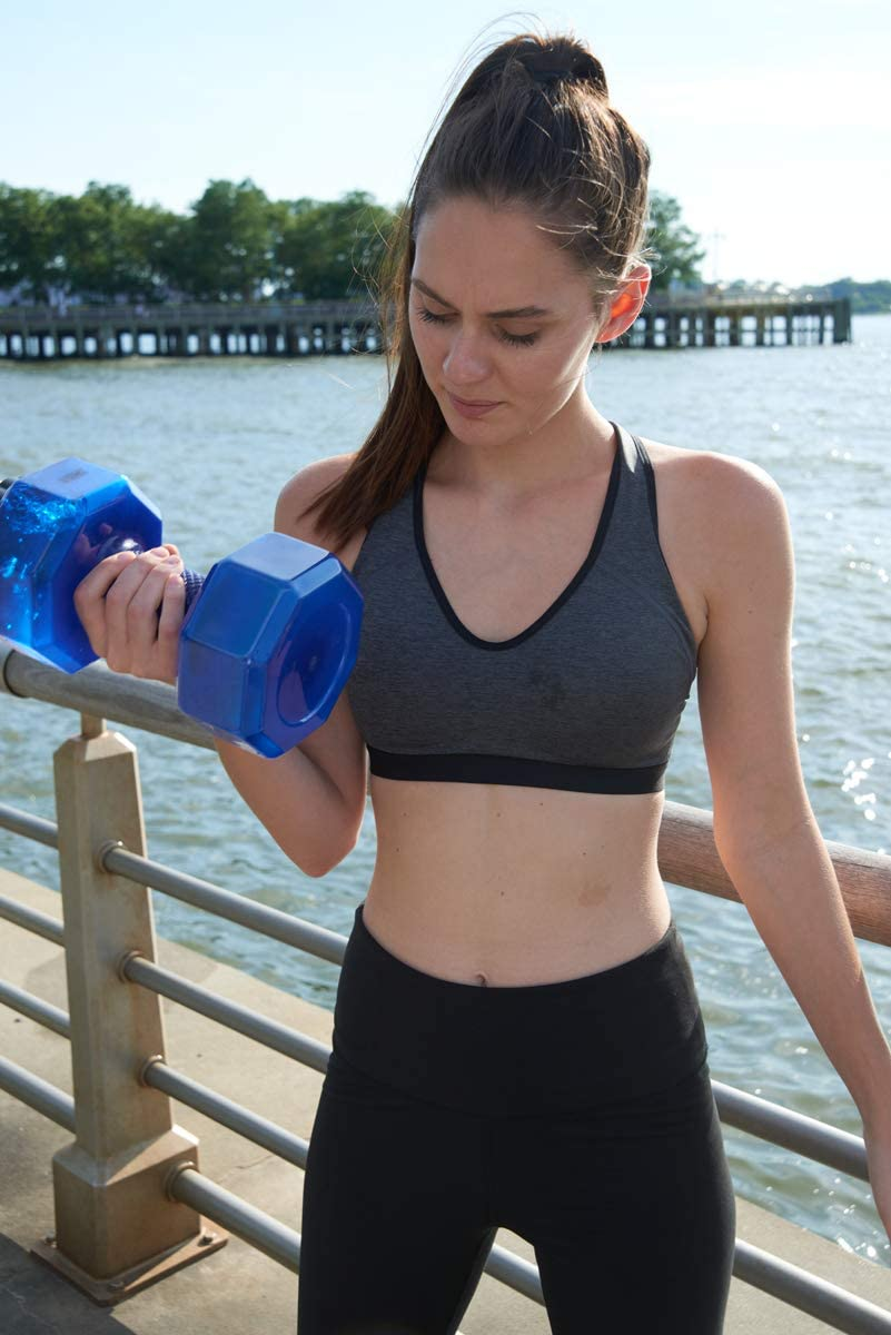 💥BUY 2 FREE SHIPPING!!!💥Eco-Friendly Sports Fitness Exercise Dumbbell Shape Water Bottle