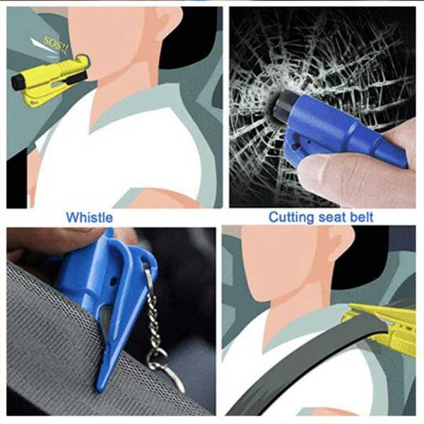 Multi-Function Mini Car Emergency Tool 【Summer Sale 50% OFF Today Only】