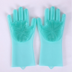 (Hot selling 2,600 items )[50% OFF] - QUALITY-EFFECTIVE REUSABLE SILICONE CLEANING GLOVES
