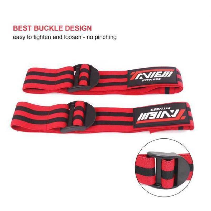 60cm Strong Elastic Blood Flow Restriction Bands for Arms and Legs