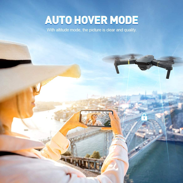 Christmas Pre-Sale 50%OFF - 2020 WiFi FPV Quadcopter 4K HD Camera Foldable Drone With 120° Wide-Angle