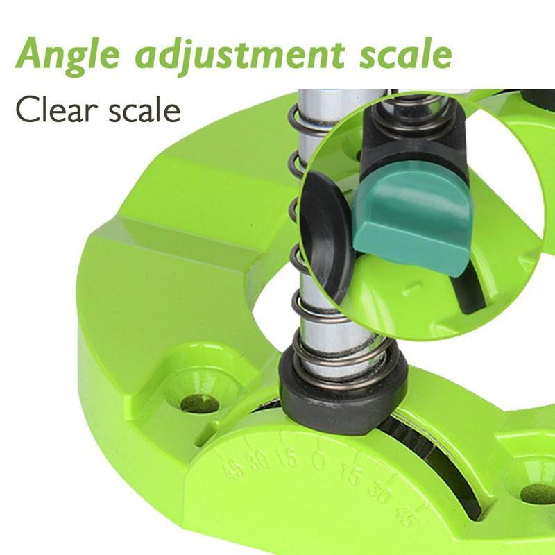🎅Adjustable angle positioning of electric drill bracket
