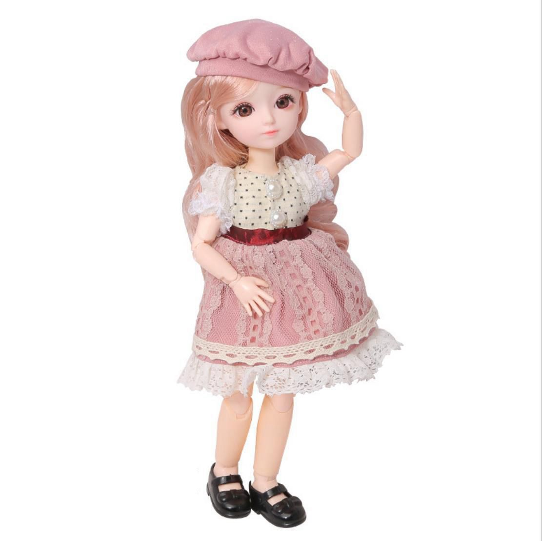 Beautiful And Cute  Evelyn Doll  With Princess Dress🍬—Nora