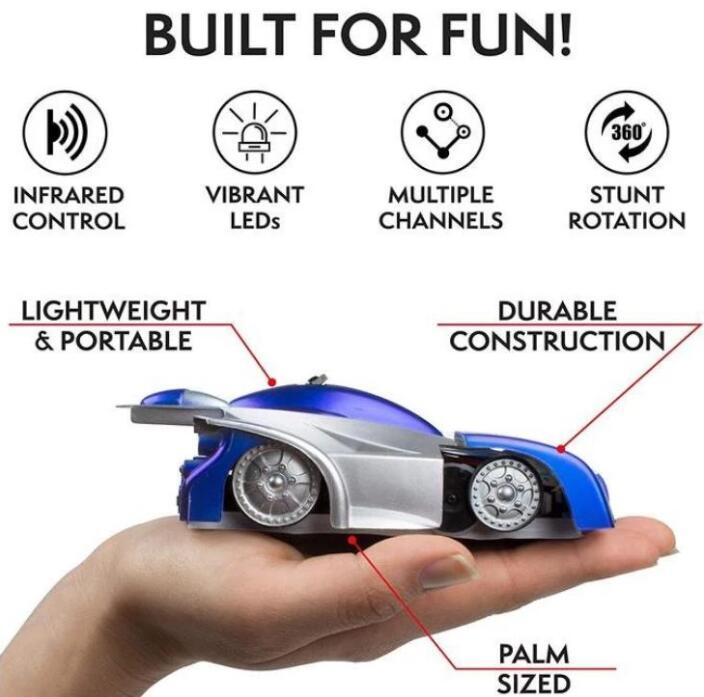 【60% OFF TODAY】Sfreere™ 2020 New Remote Control Wall Climbing Car