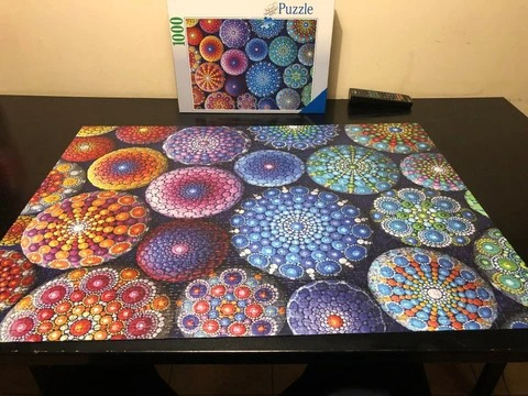 RAINBOW 1000 Piece Puzzle – Just $24.99 & Free Puzzle Glue (Get 2 Free Shipping)