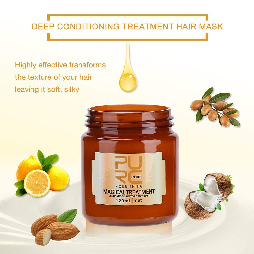 🔥🔥Buy 1 Get 1 Free--Pure Magic Hair Treatment Mask✨✨