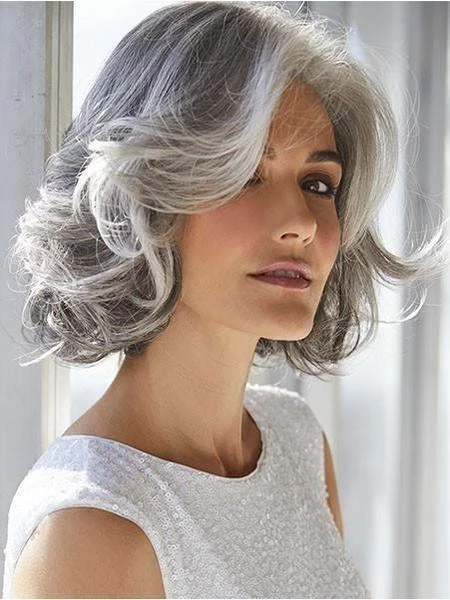 Gray Wigs Lace Hair Best Hair Colour For White HairGrey Blond