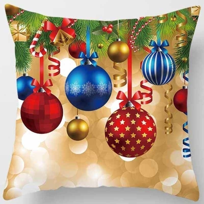 Fashion Beauty christmas  pillow case double-sides printing pillow cases cover square Pillow case  boys girls weeping willow case size 45cm*45cm
