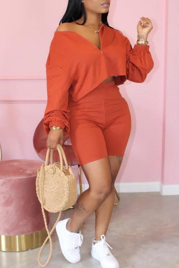 Stylish And Casual Two-piece Set