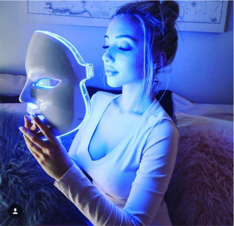 Skin Rejuvenation LED Facial Neck Beauty Mask™