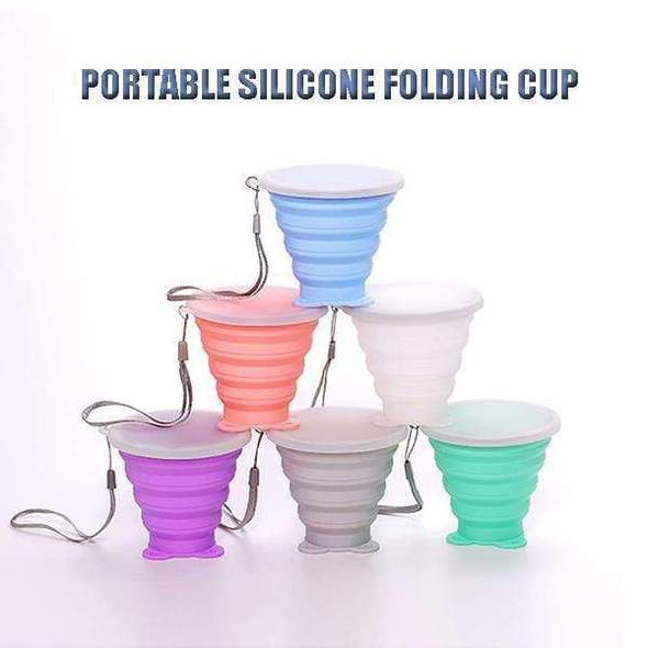 Portable Silicone Folding Cup-Last Day Promotion 50% Off
