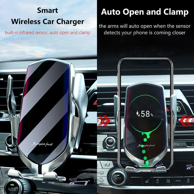 🔥ONLY $19.99🔥2-IN-1 Wireless Automatic Sensor Car Charger™