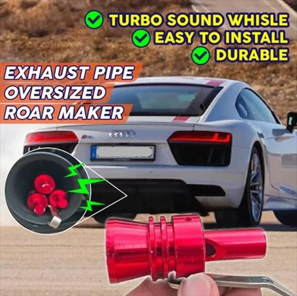 (🔥Clearance Sale - 63% OFF) New Multi-Purpose Car Turbo Whistle, Buy 2 Get 2 Free (4 Pcs)