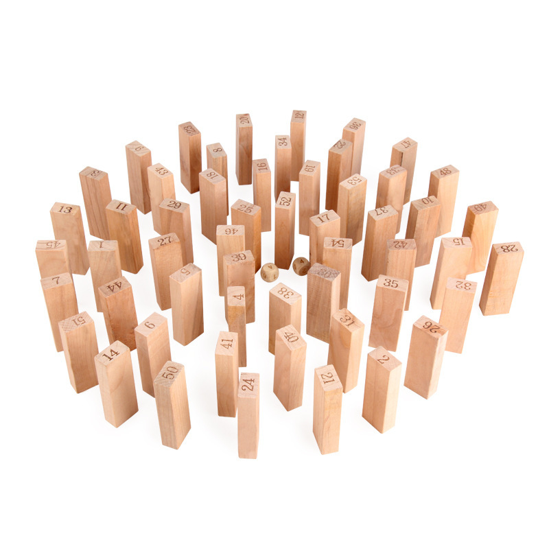 40% OFF TODAY-Wooden Block(50 PCS)