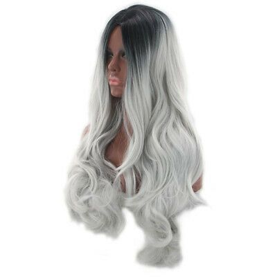2020 New Gray Hair Wigs For African American Women Full Lace Wigs Near Me Mens Grey Hair Fake Wigs Lace Wig With Bangs Goddess Locs Wig