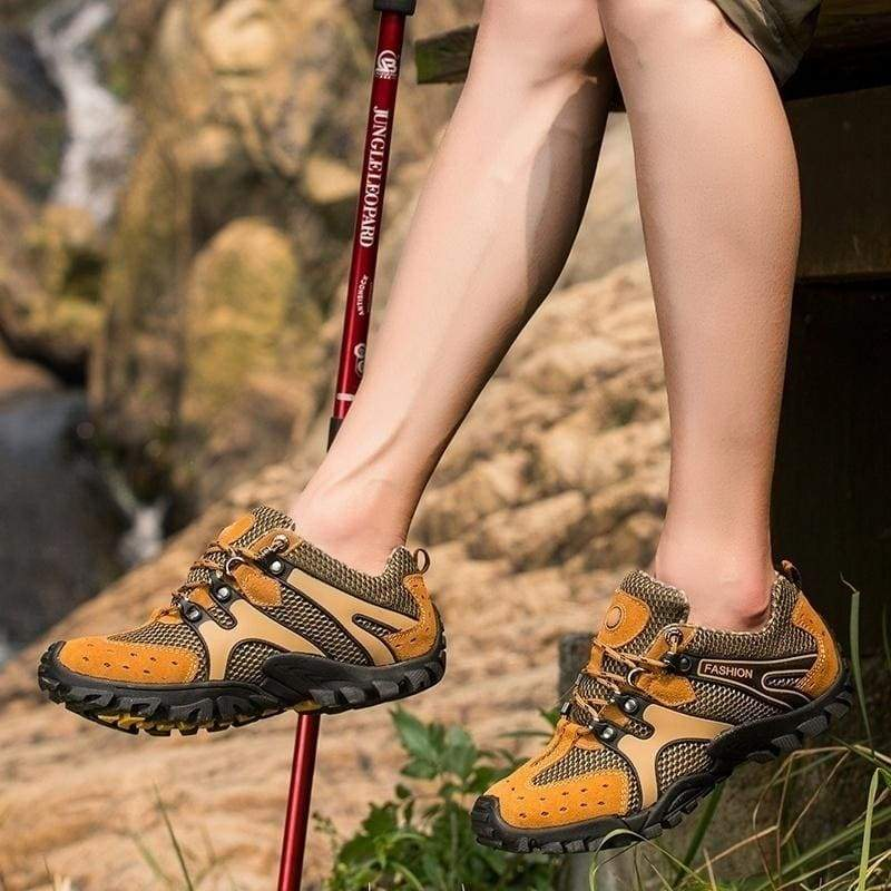 Outdoor Walking Shoes Hiking Shoes for Men Breathable Comfort Camping Climping Trakking Sports Sneakers