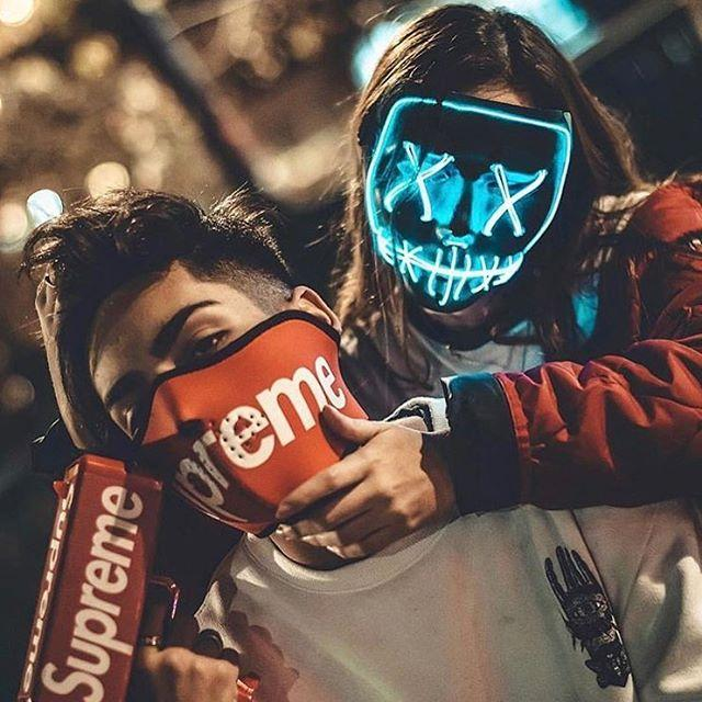 Halloween-Party & Rave Masque📣50% OFF