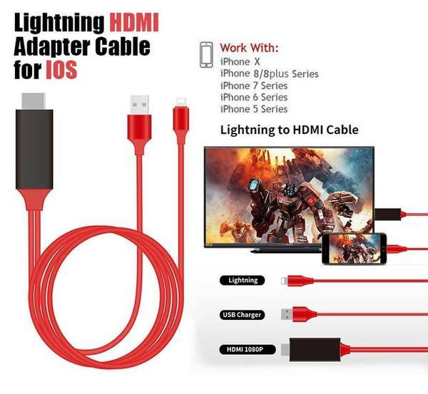 iPhone Screen To TV Cable(Last Day Promotion 50% Off!)