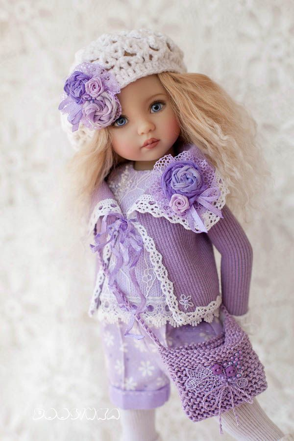 👧👧Little Darling Dianna Effner Doll with dress💝Lolita Style#17