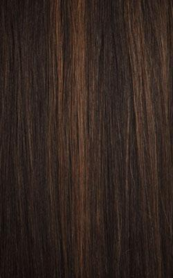 Janet Collection HHair Blend Natural Me Deep Part Swiss Lace Front Wig AMANI