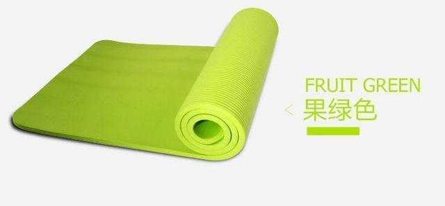 10mm Thick Non-Slip Lightweight Yoga Mat